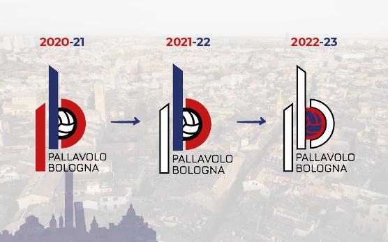Trasformazione del Logo di Geetit Pallavolo Bologna