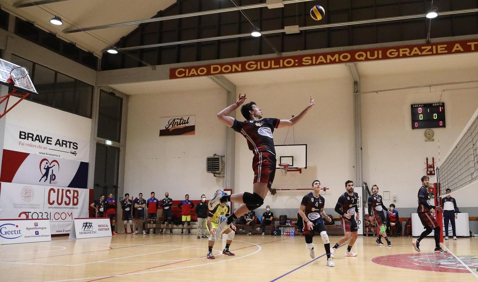 I match stagionale: Geetit pallavolo Bologna- Titan Services S. Marino