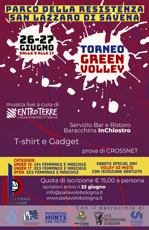 Green Volley:  Primo Pallavolo Bologna Green e Torneo Giovanile Luca Testa